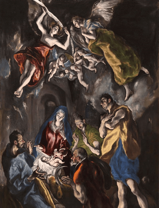 The Adoration of the Shepherds El Greco