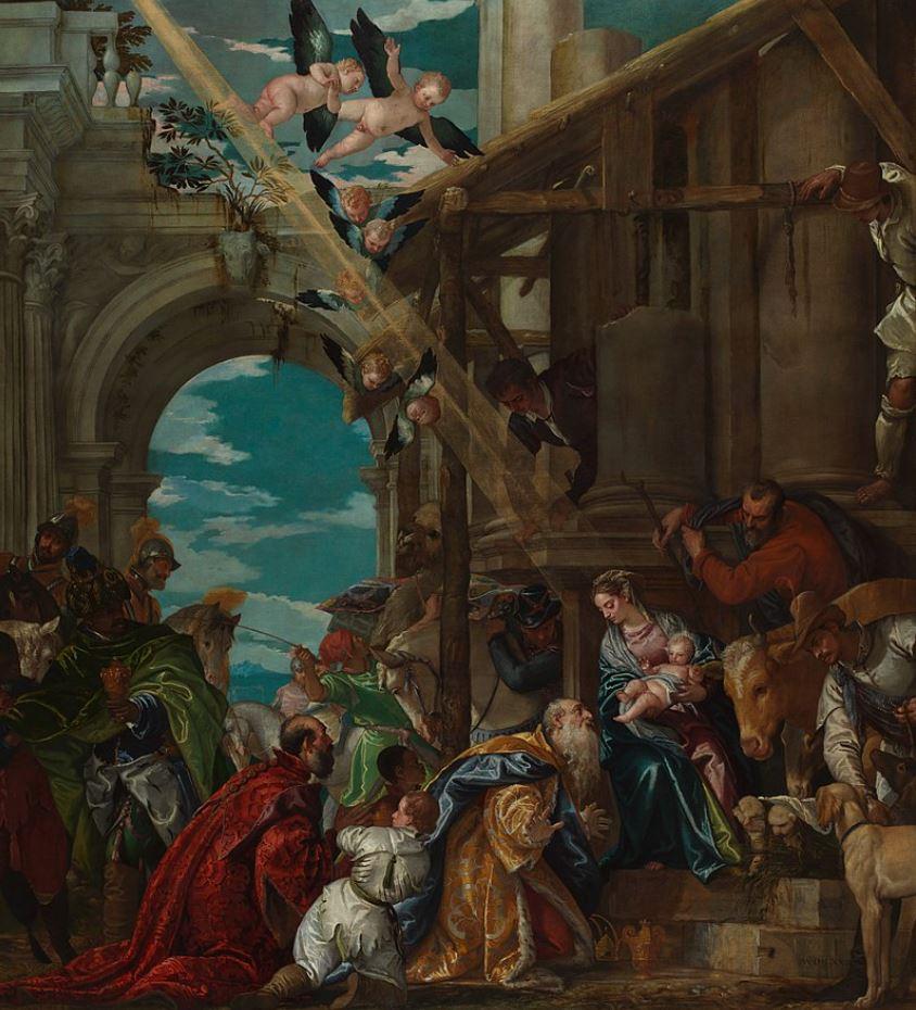 Adoration of the magi veronese