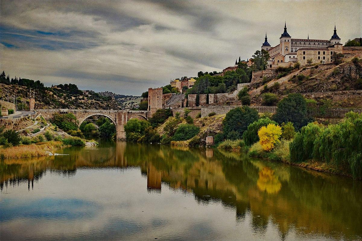 Alcantara Bridge in Toledo