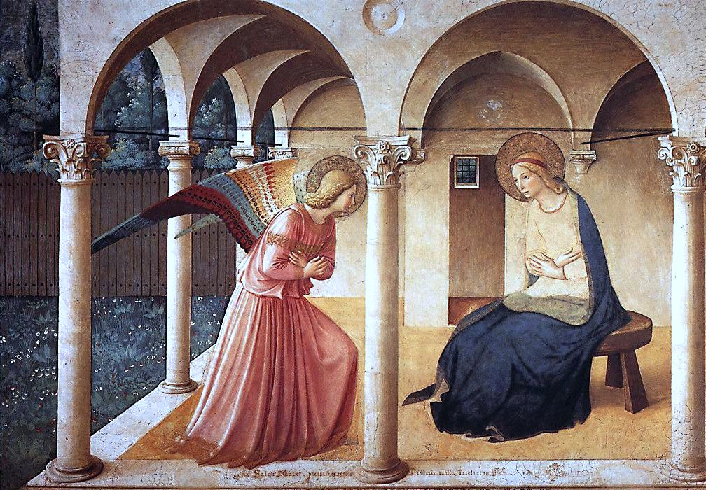 """""""Annunciation"""" by Fra Angelico"""