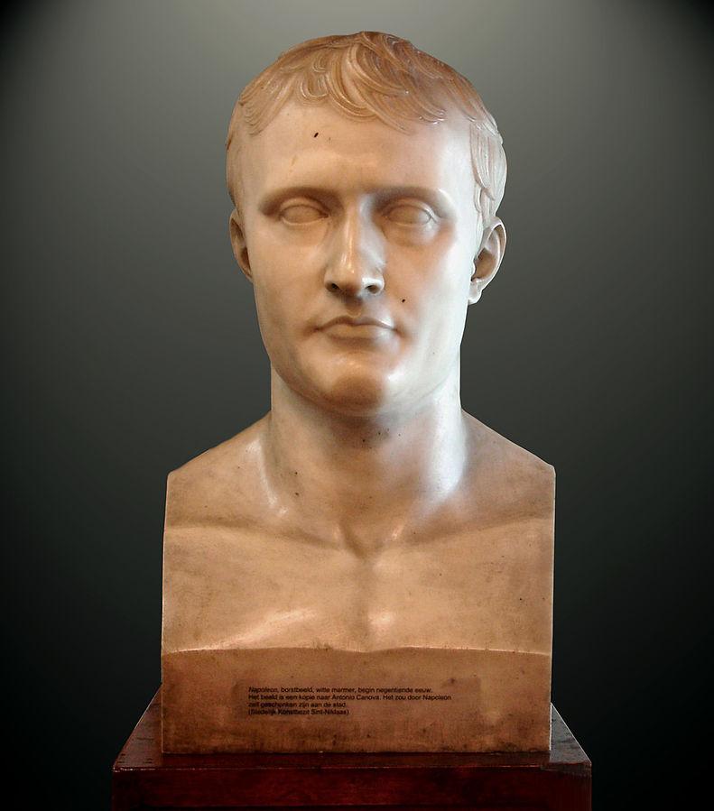 Antonio Canova bust of Napoleon