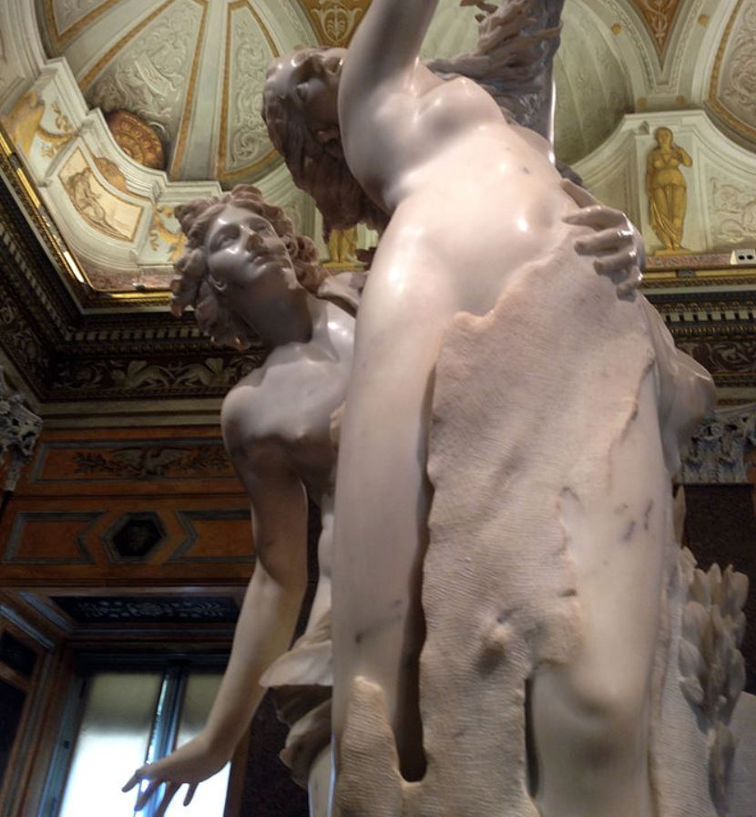 Apollo and Daphne front view