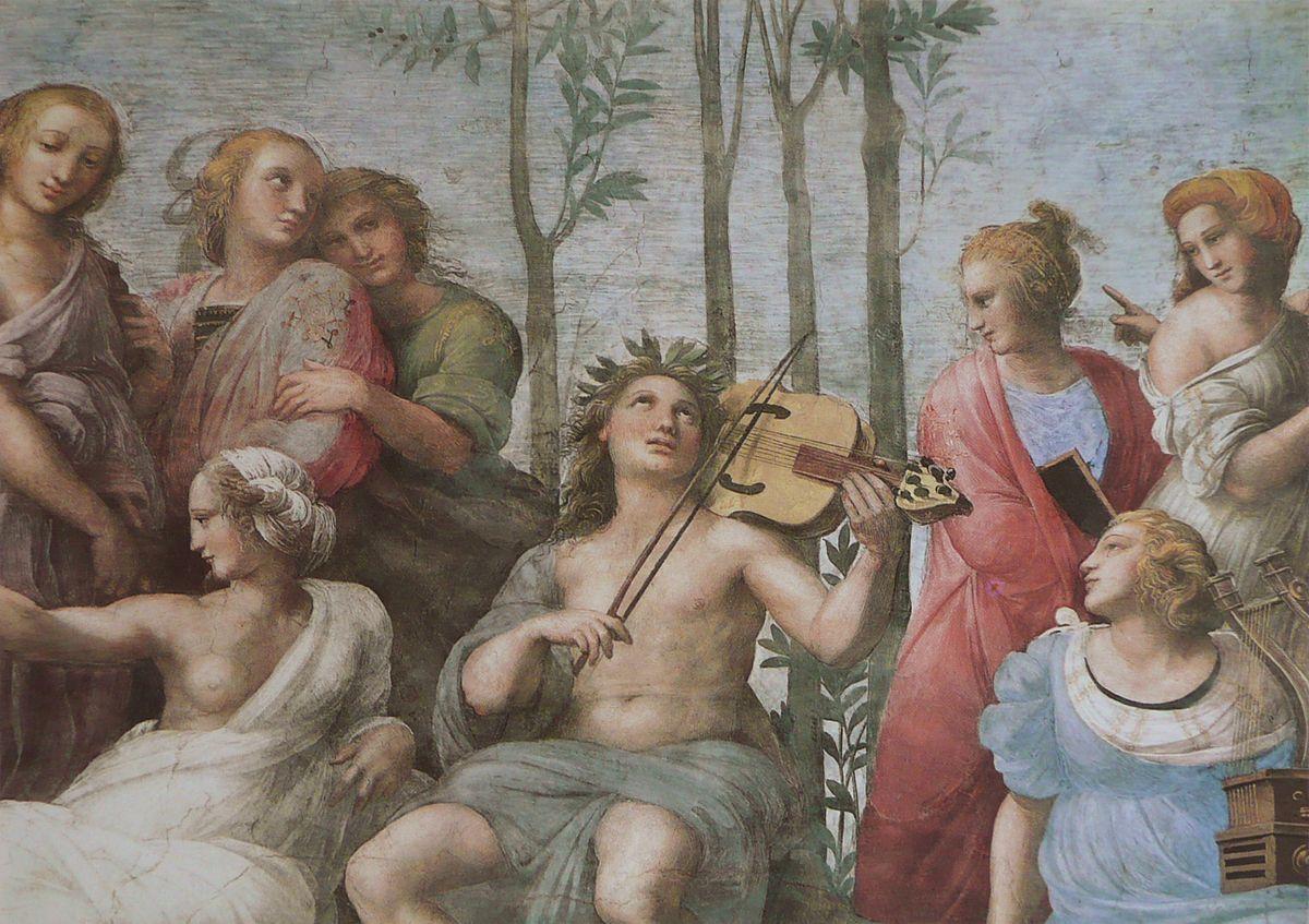 Apollo in The Parnassus