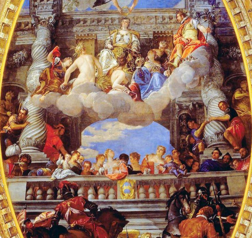Apotheosis of Venice veronese