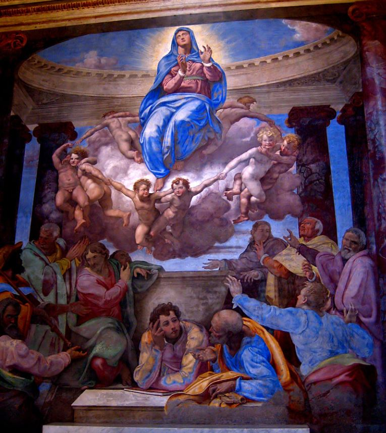 Assumption of the virgin de volterra