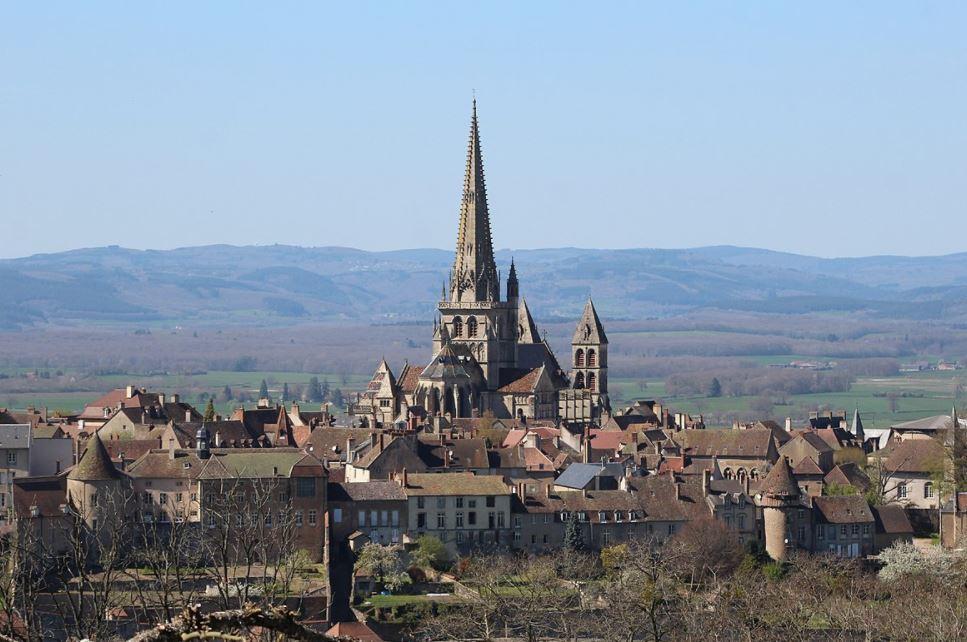 Autun in Burgundy