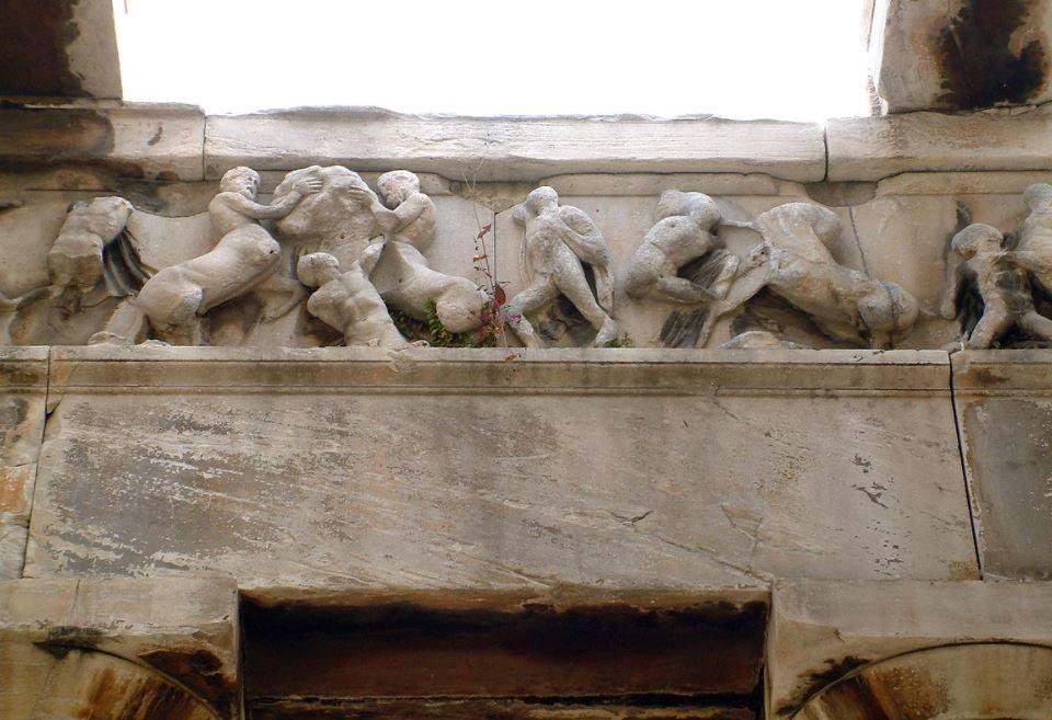 Temple of Hephaestus western frieze