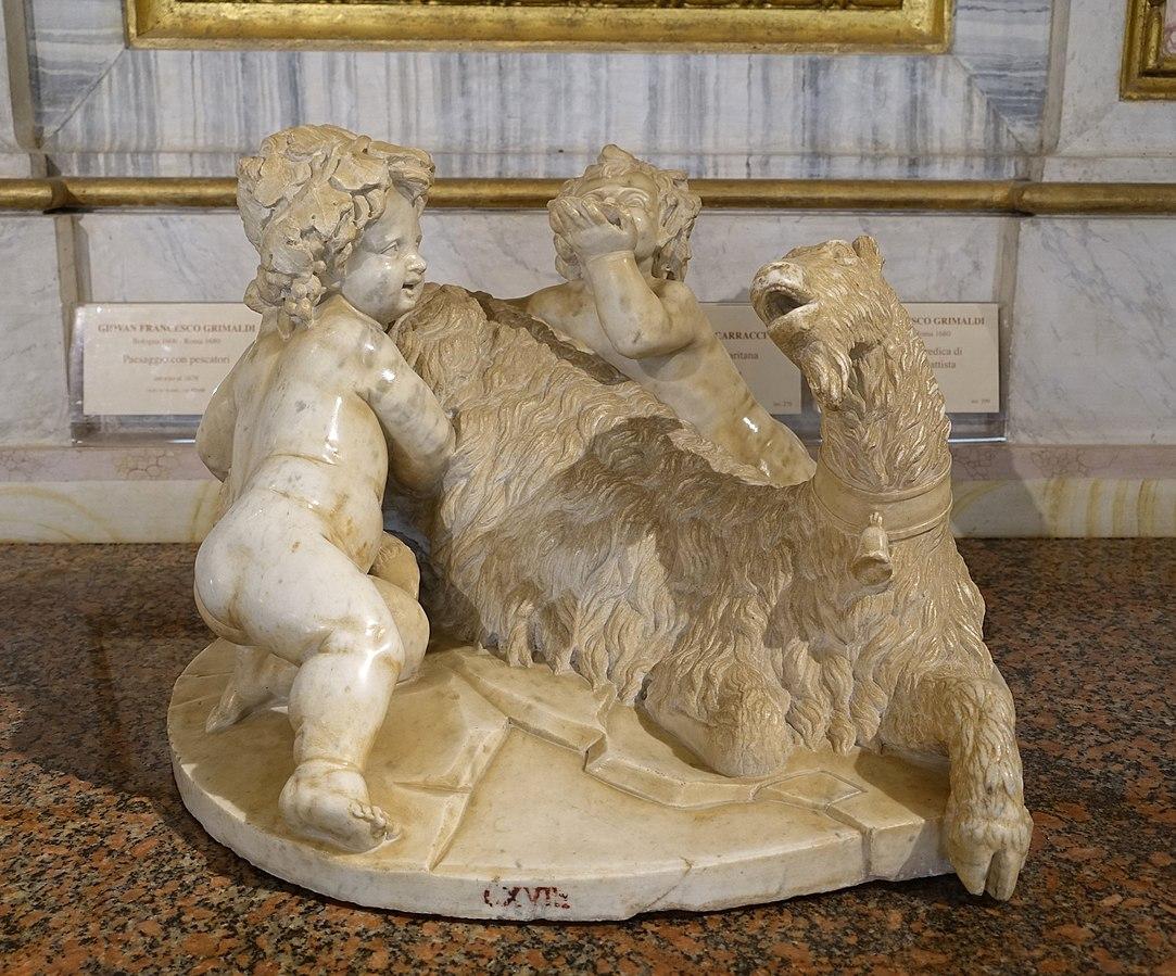 Berninis first sculpture