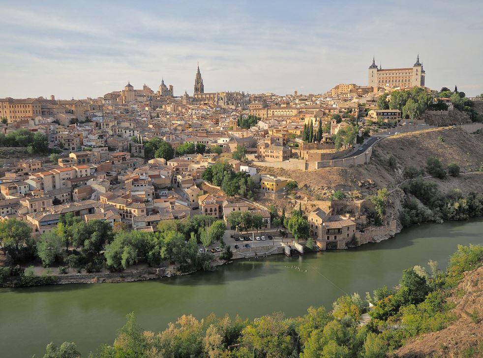 City of Toledo in Spain