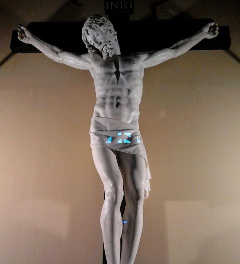 Crucifix by Cellini