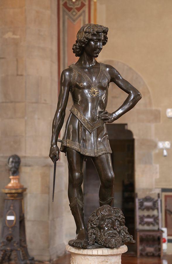 David by Andrea del Verocchio