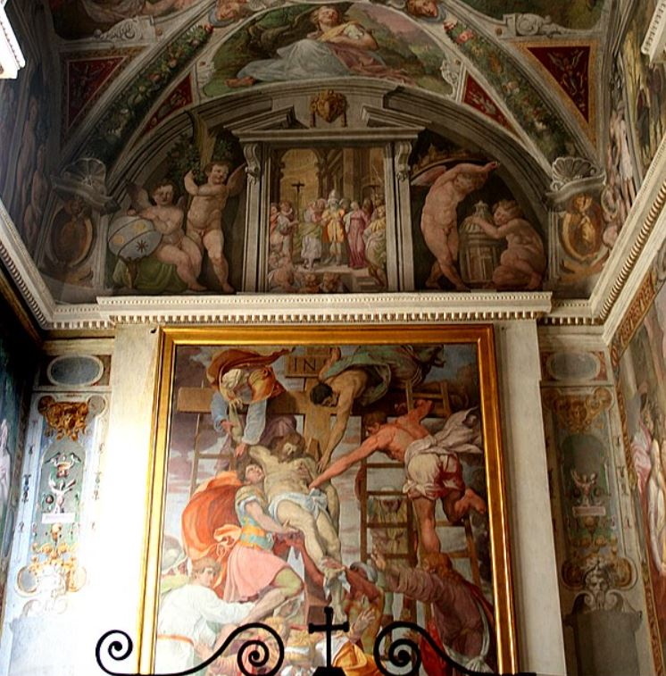 Descent from the cross orsini chapel