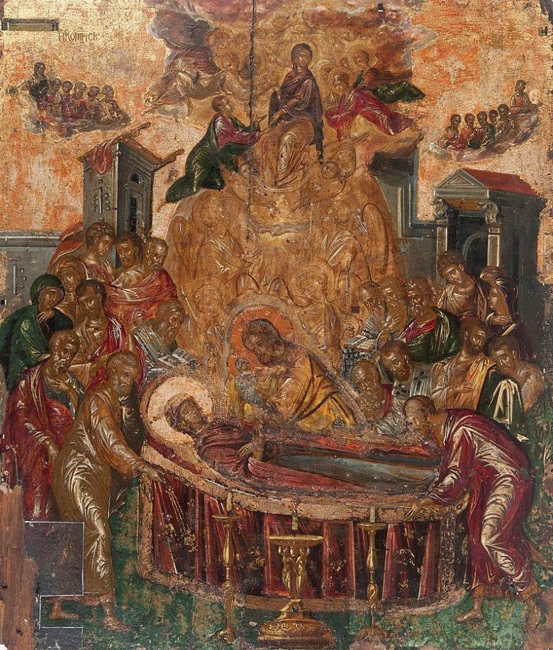 Dormition of the virgin el greco