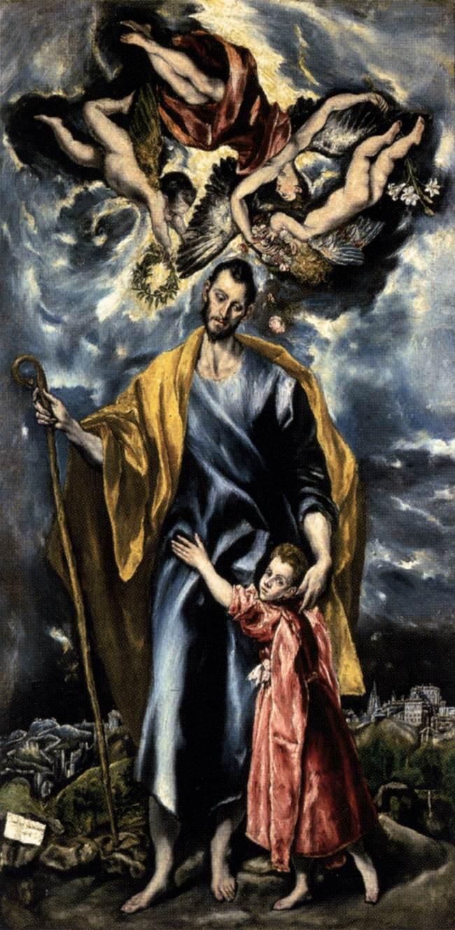 Saint Joseph and the Christ Child