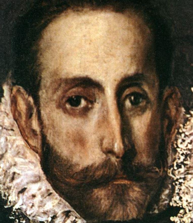 El Greco self-portrait
