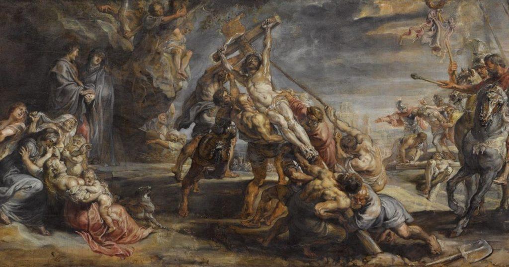 Elelvation of the cross rubens 1638