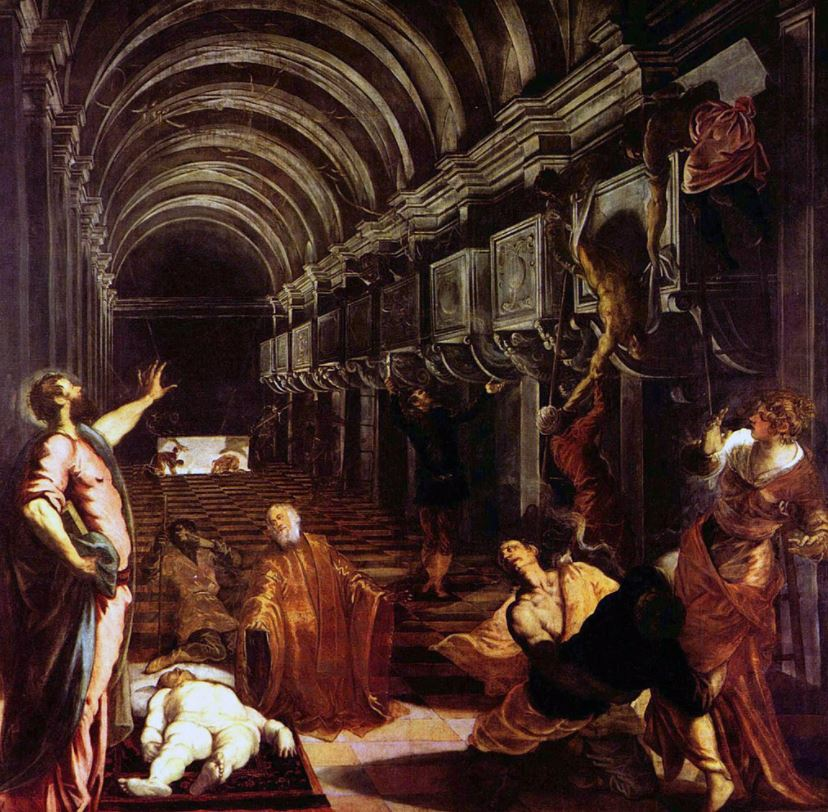 Finding the body of saint mark tintoretto famous paintings