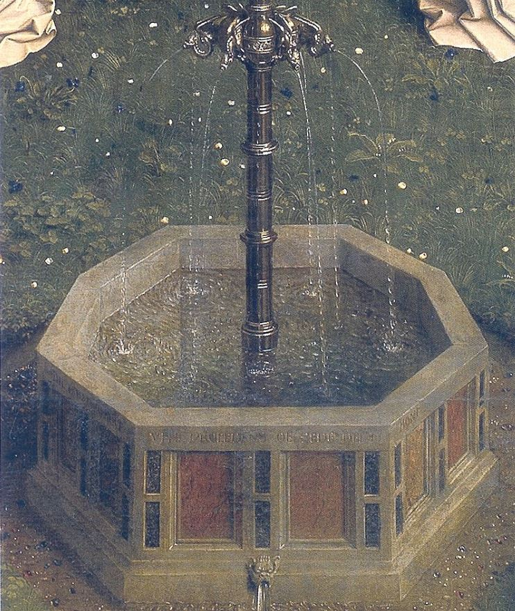 Fountain of life Ghent altarpiece