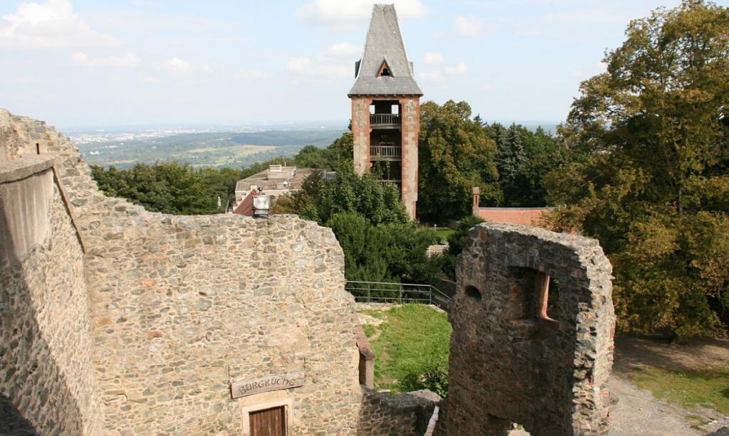 Frankenstein Castle View