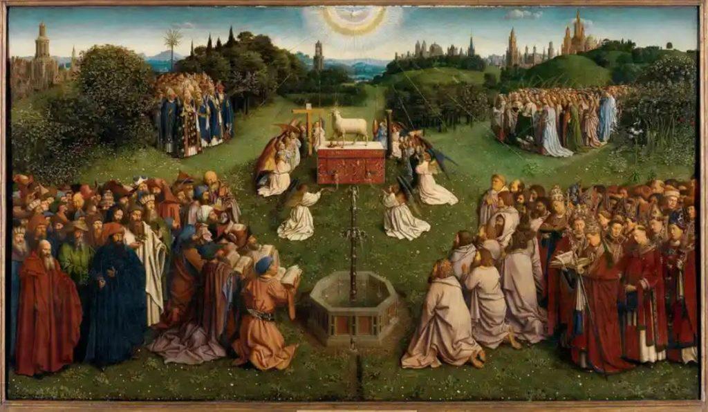 Ghent Altarpiece central panel