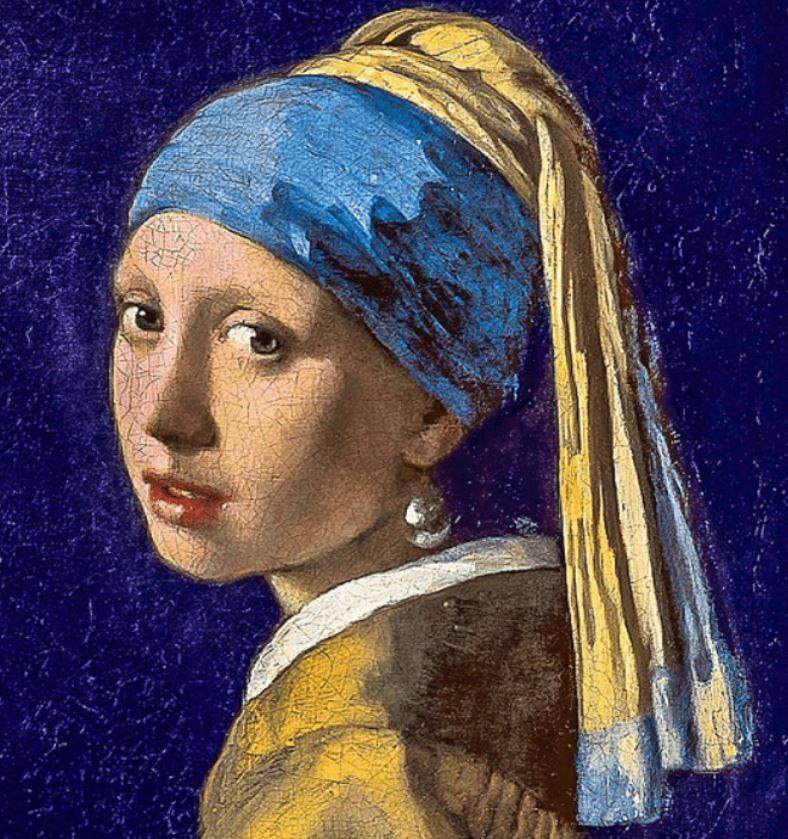 Girl with a pearl earring vermeer