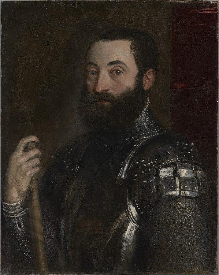 Guidobaldo II della Rovere by Titian