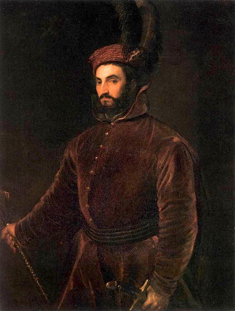 Ippolito de' Medici by Titian