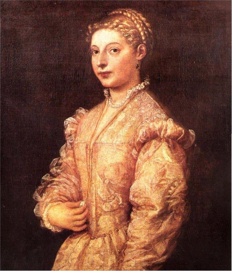 Lavinia by Titian