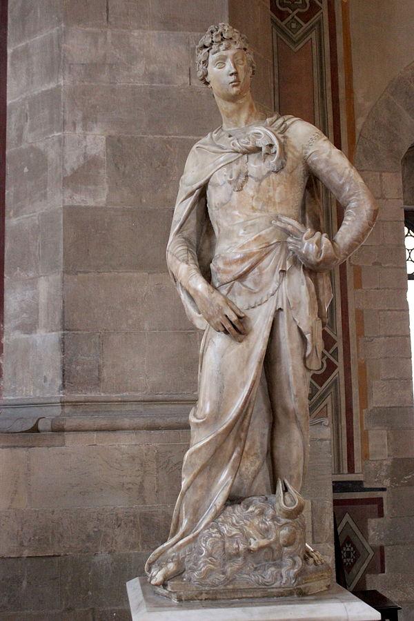 Marble David by Donatello