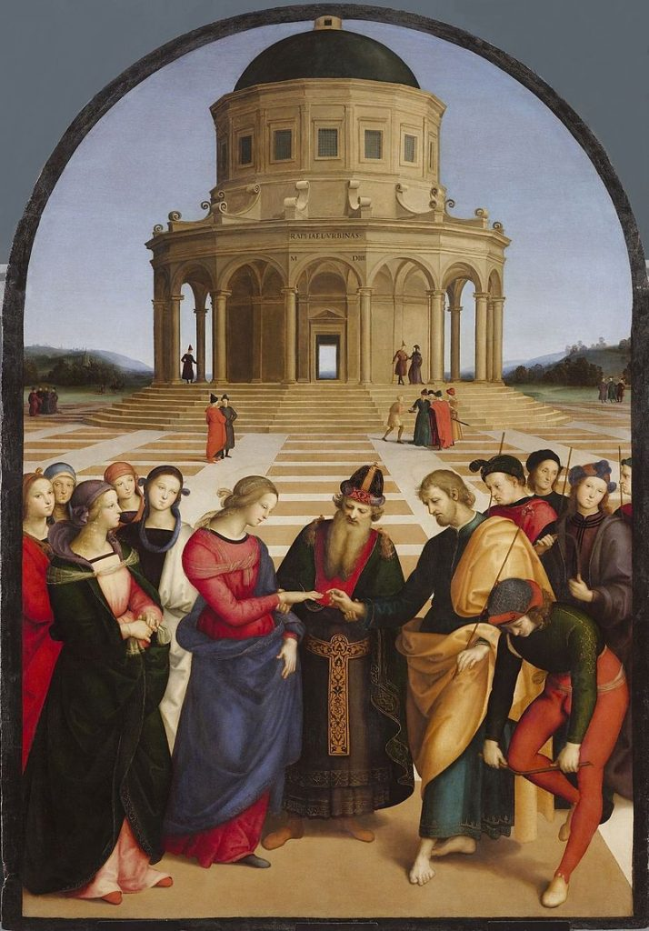 Marriage of the virgin raphael facts