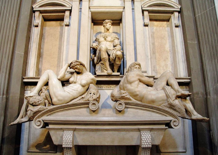 Medici tomb michelangelo florence