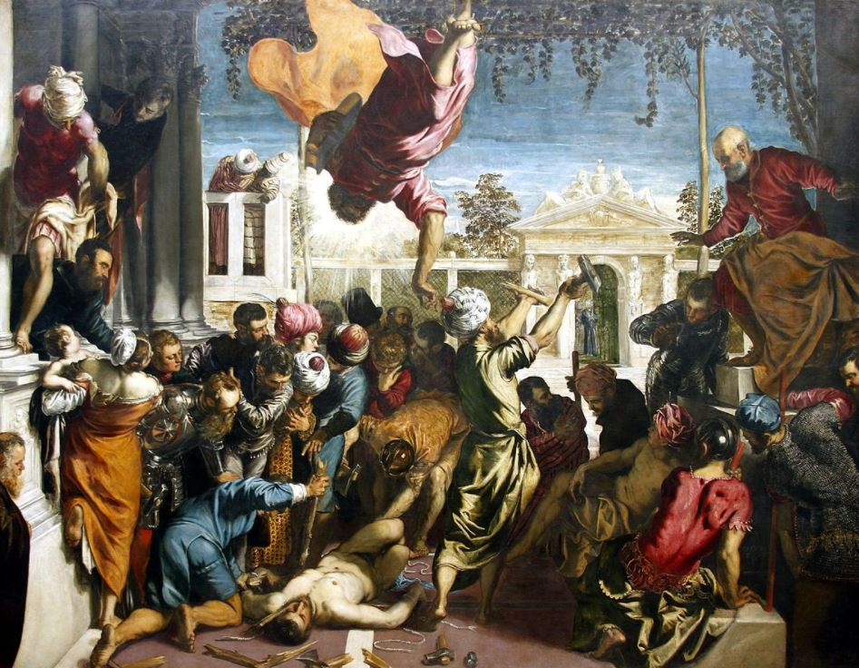 Miracle of the Slave Tintoretto