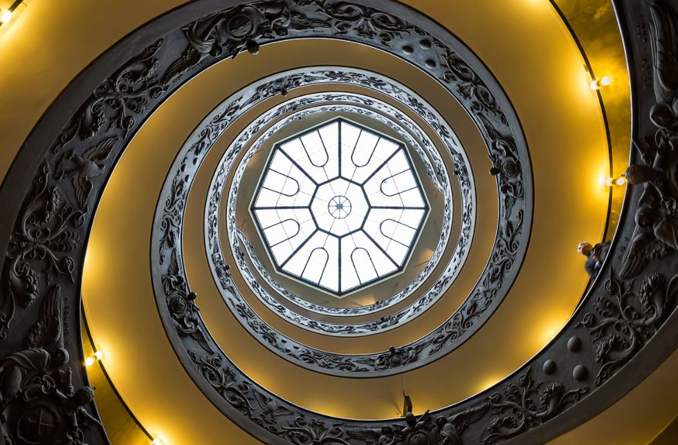 Modern Bramante Staircase
