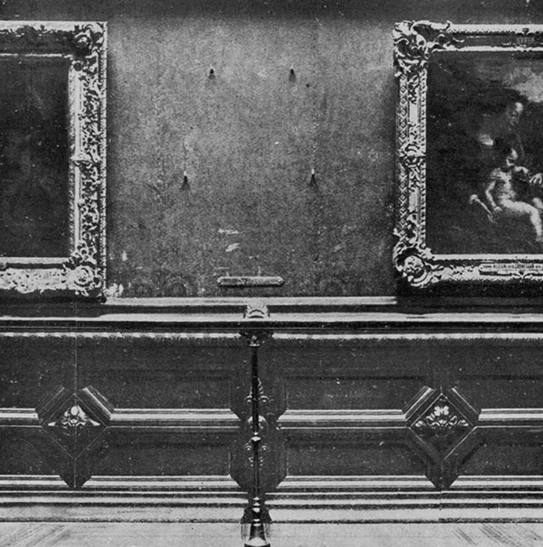 Mona Lisa Stolen