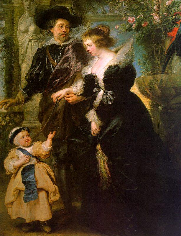 Peter Paul Rubens and Helena FOurment