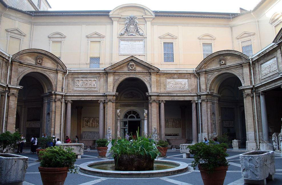 Pio-Clementine Museum Courtyard