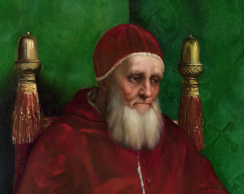 Pope Julius II Portrait fun facts