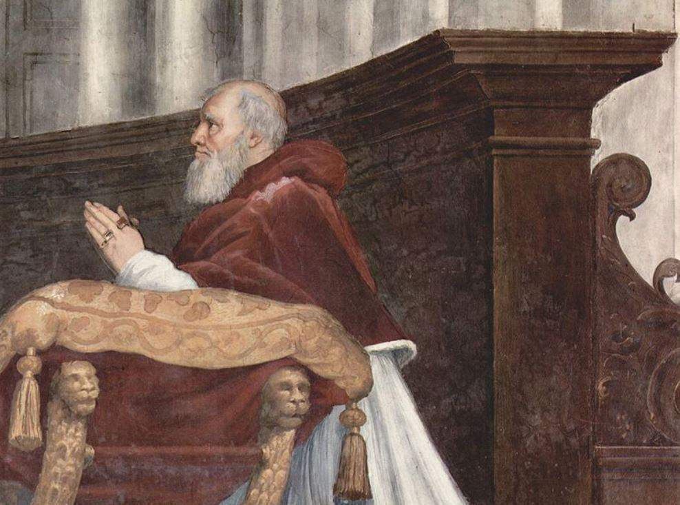 Pope Julius II portrait facts