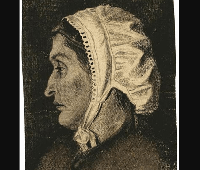 Portrait of Sien Hoornik