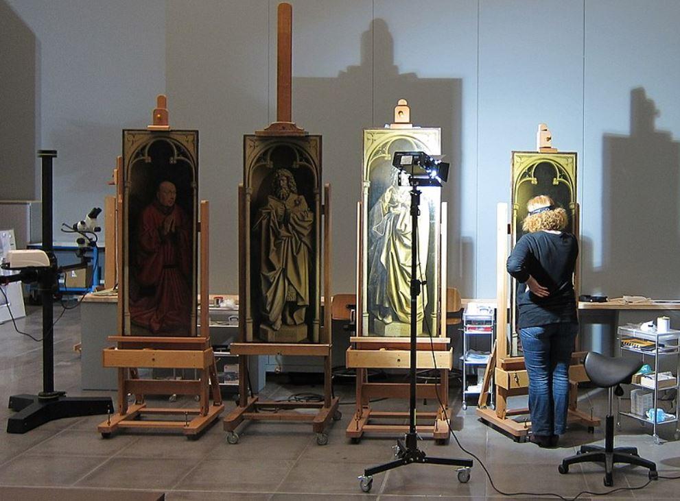 Restoration of the Ghent Altarpiece