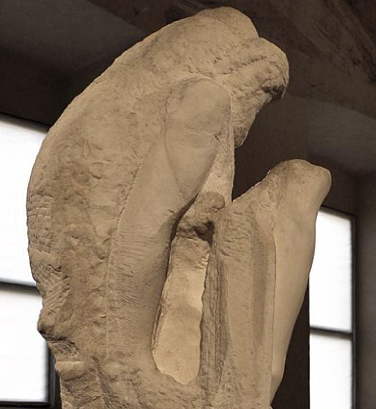 Rondanini Pieta hacked off arm