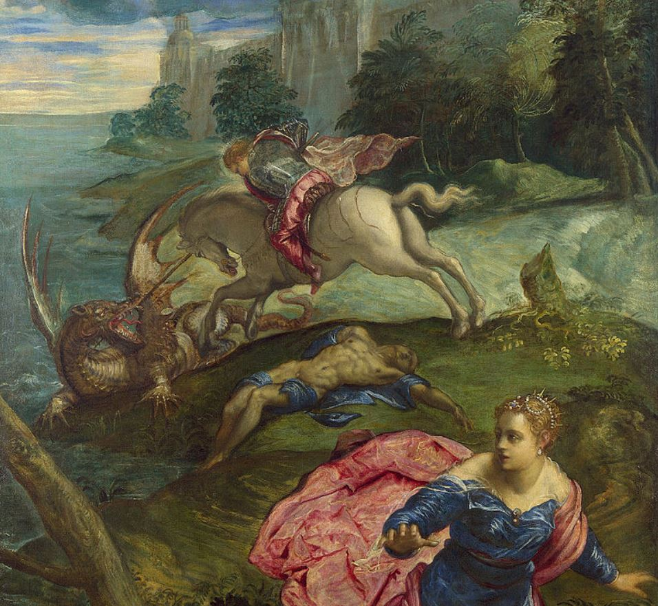Saint George and the Dragon Tintoretto
