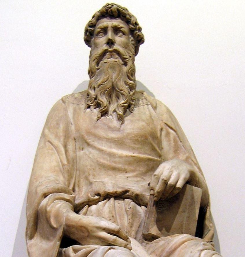 Saint John by Donatello