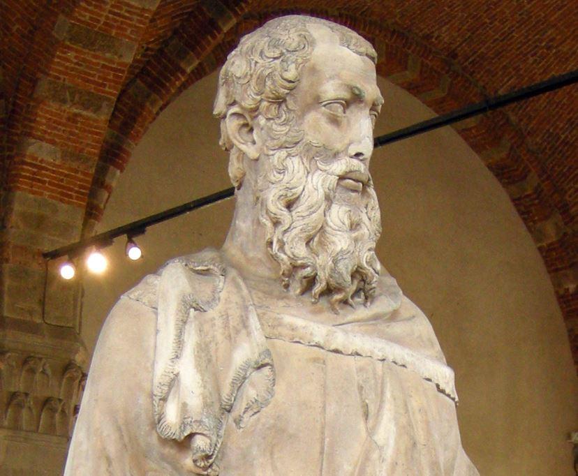 Saint Mark by Donatello facts