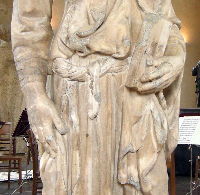 Saint Mark by donatello details