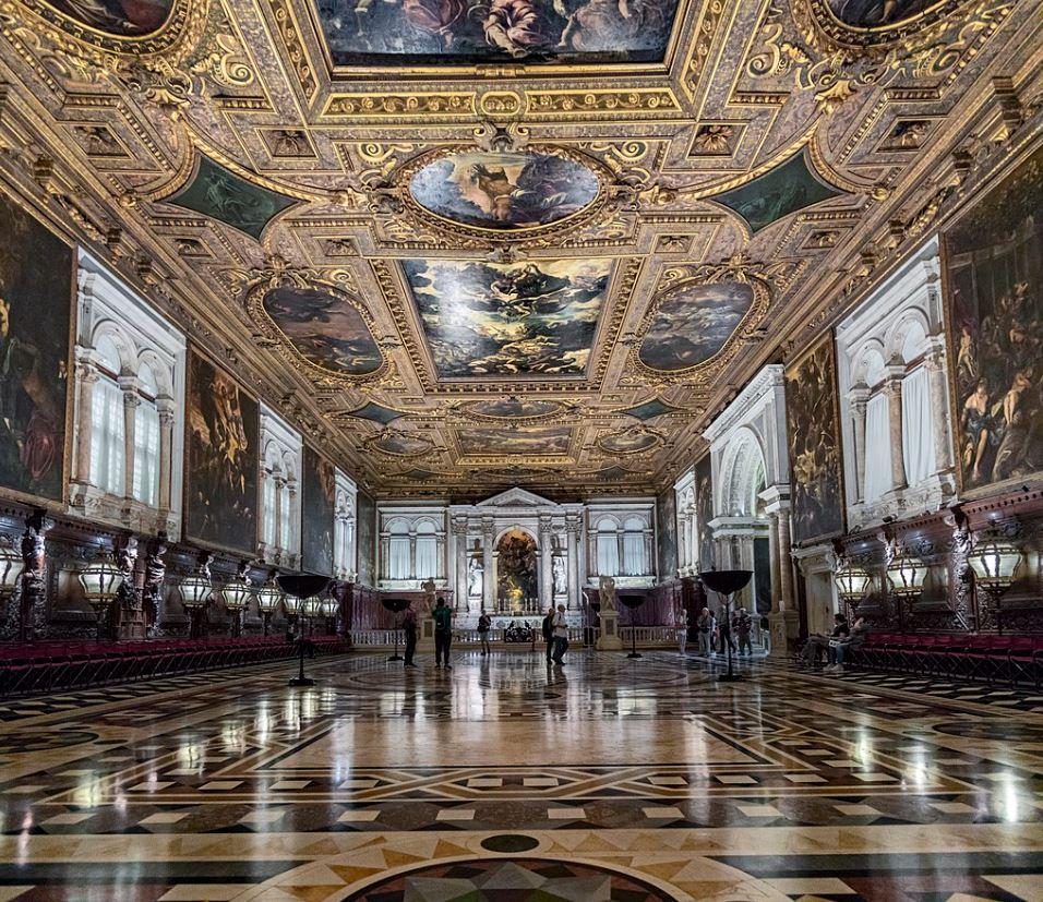 Scuola Grande di San Rocco Salone Maggiore