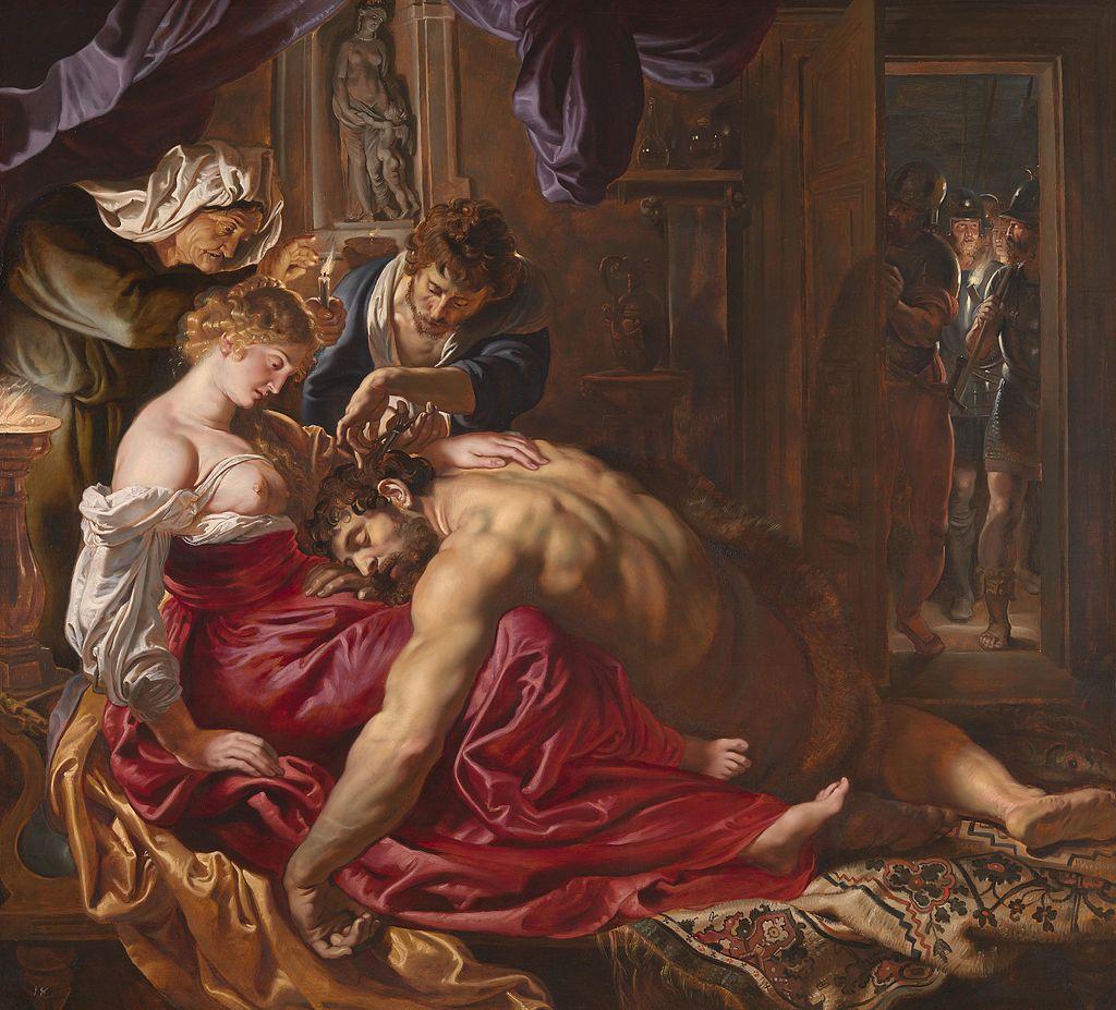 Samson and Delilah rubens