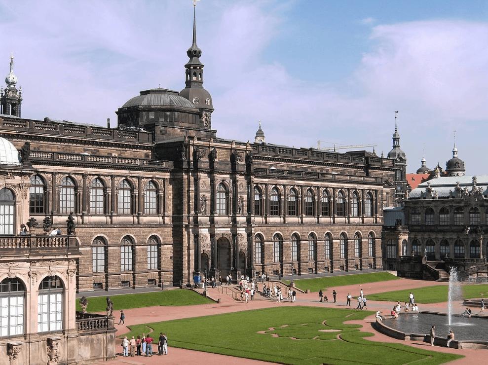 Semper Gallery Dresden Sistine Madonna