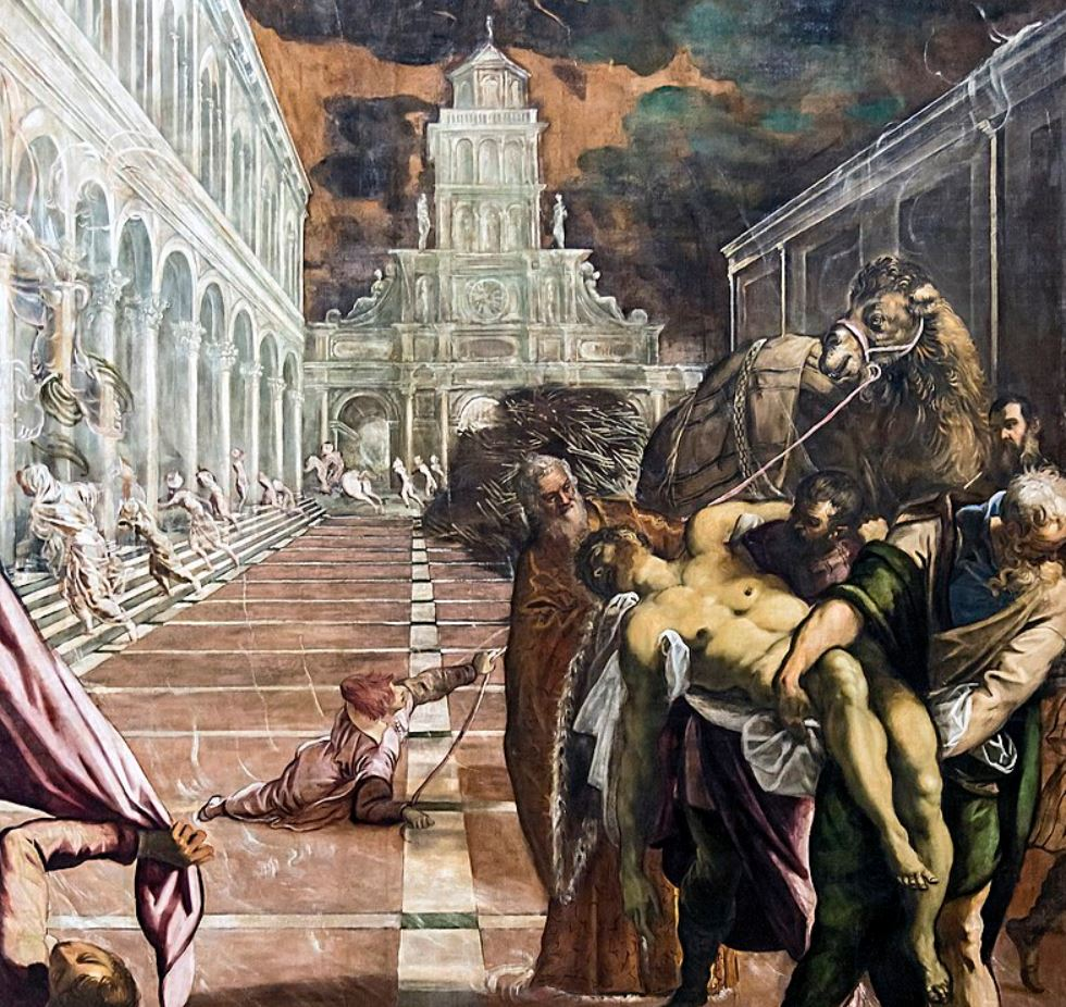 St Mark's Body Brought to Venice