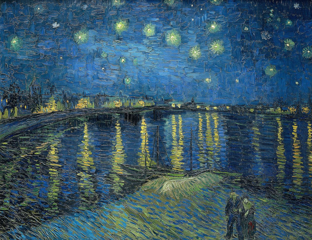 Starry Night Over The Rhônes